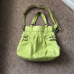 Handbags - Lime green purse